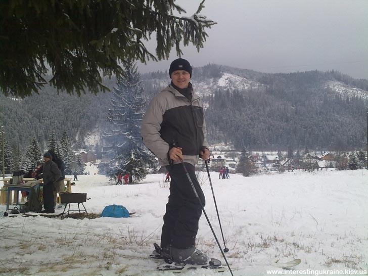 Выходные на лыжах в Славском