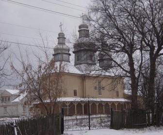 Деревянная церковь, г. Фастов