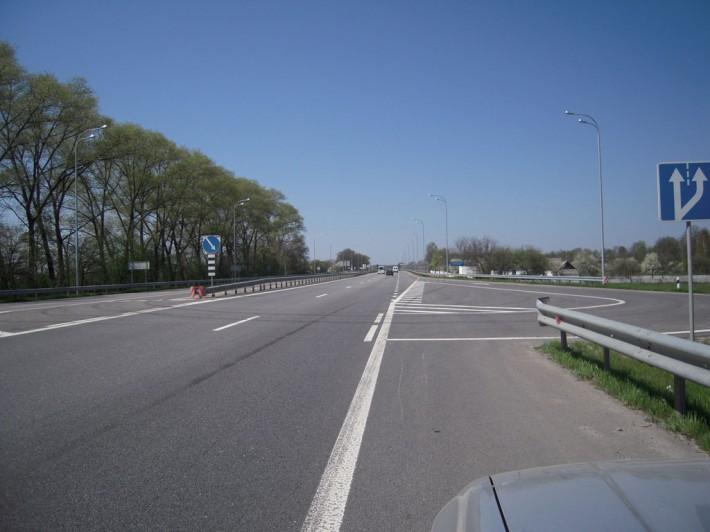 Трасса Киев-Чоп после реконструкции почти как в Европе
