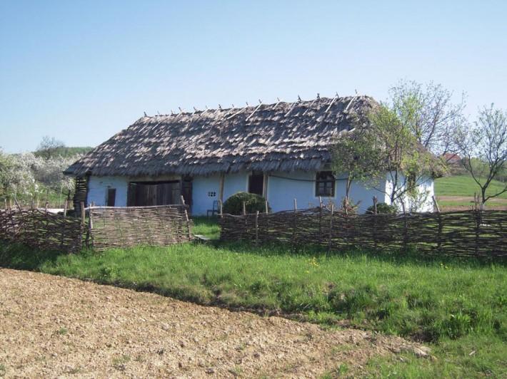 Типичное жилище лемков