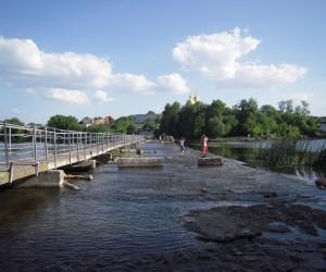Река Рось - любимое место отдыха Белоцерковчан