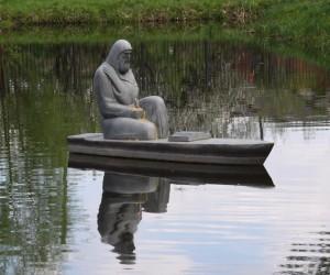 Памятник  Елисею Плетенецкому - архимандриту Киево-Печерской лавры