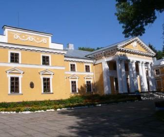 Дворец Ганских  в Верховне, в котором жил О. де Бальзак
