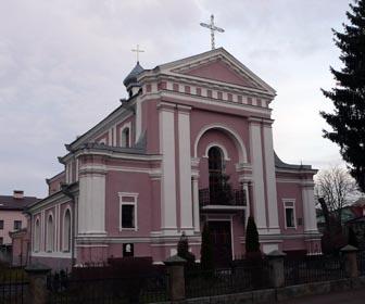 Достопримечательность Бердичева - Костёл Святой Варвары