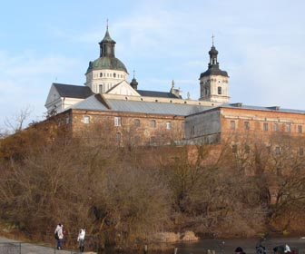 Достопримечательность Бердичева - монастырь кармелитов