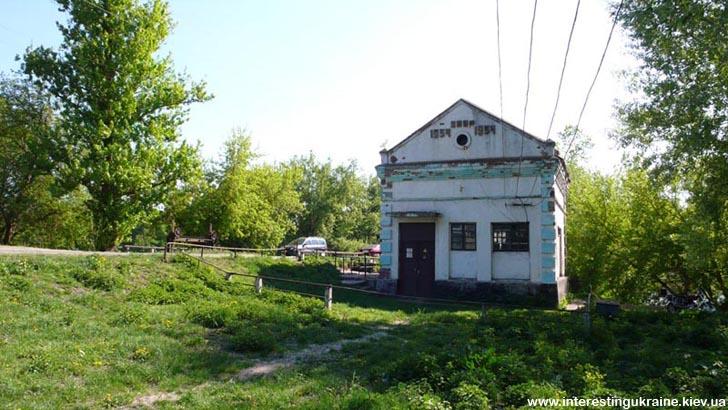 Интересное место Лещина - мельница. Или электростанция?