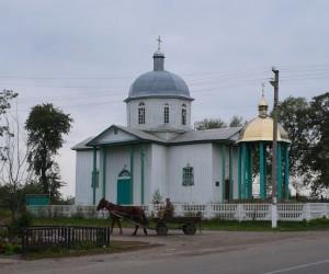 Деревянная церковь в Ружине
