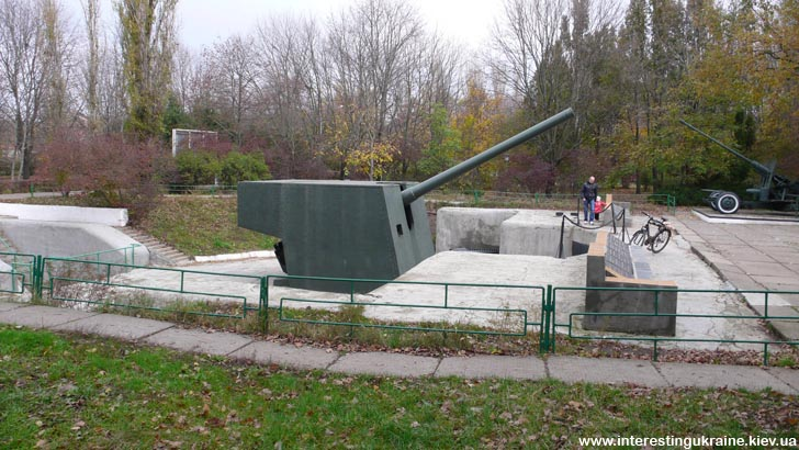 Пушка БП-180 - основное вооружение 411-й батареи