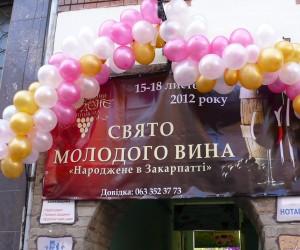 Праздник молодого вина Ужгород