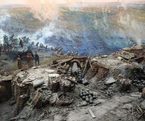 Достопримечательности Севастополя. Панорама «Оборона Севастополя 1854-1855 гг.»