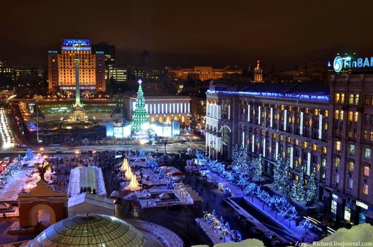 Новогодние каникулы в Киеве
