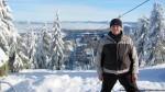 Лыжи в Славском, Тростян