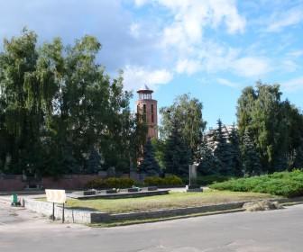 Водонапорная башня в г. Радомышль