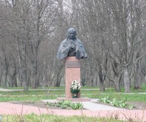 Достопримечательности в с. Гоголево. Памятник Н. В. Гоголю