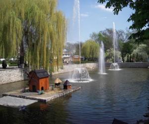 Достопримечательности Миргорода. Курортный парк