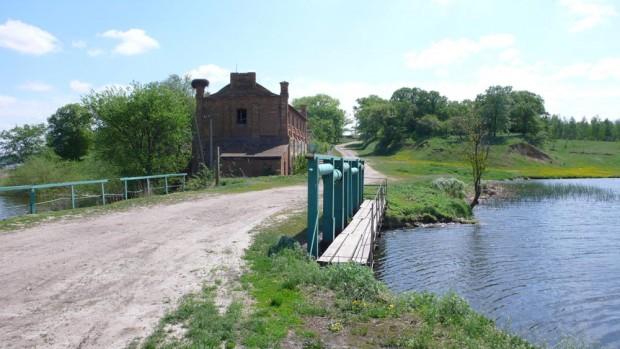 Водяная мельница в Романовке