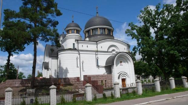 Церковь в Новогуйвинском