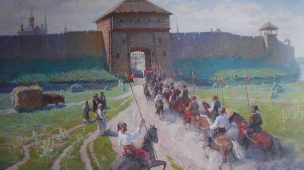 Так могли выглядеть казацкие укрепления в Паволочи