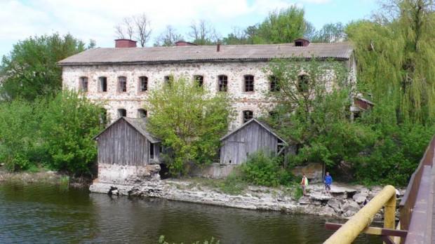 Водяная мельница в с. Паволочь