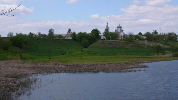 Покровская церковь в Паволочи, остроенная на месте деревянного храма 1723 г.