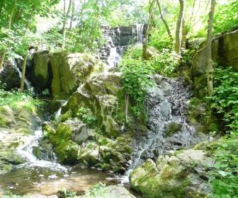 Водопад в с. Троянов Житомирской области