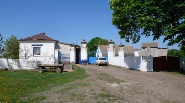 Ворота помешичьего имения с. Ходорков