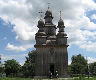 Свято-Георгиевская церковь - достопримечательность Седнева