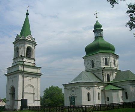Воскресенская церковь - достопримечательность Седнева