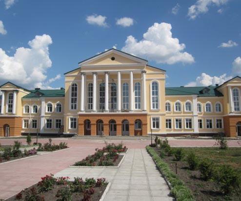 Здание новой школы в Седневе - чем не достопримечательность?