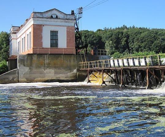 Седневская ГЭС - ещё одна достопримечательность