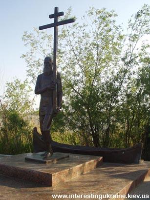 Памятник староверам в Вилково