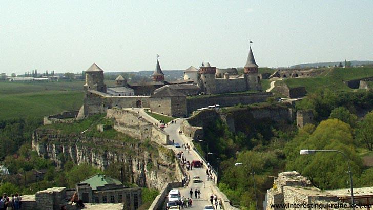 Старая крепость - достопримечательность Каменца-Подольского