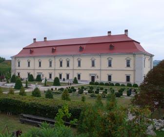 Большой дворец Золочевского замка