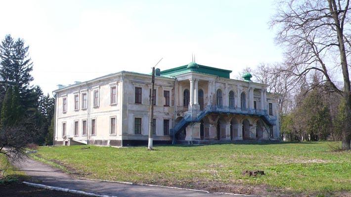 Дворец Закревскийх в с. Берёзовая Рудка
