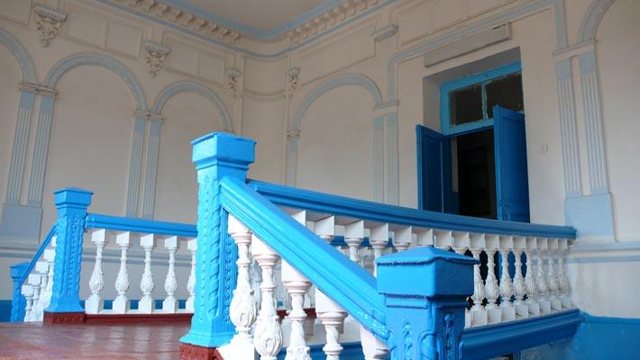 Старинные интерьеры в усадьбе Закревских