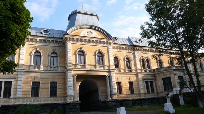 Дворец графа Е. Кинского в Сколе
