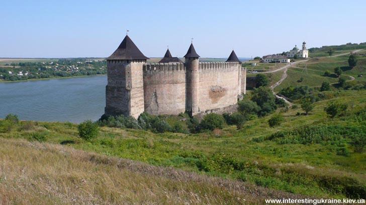Крепость - достопримечательность Хотина