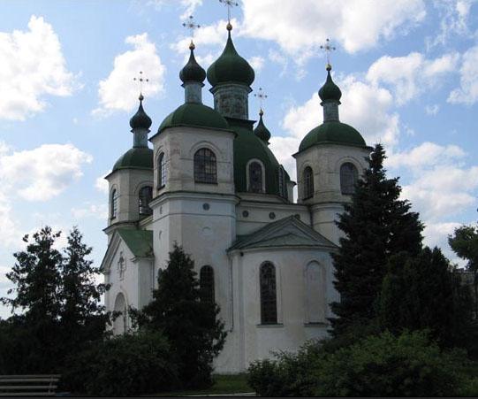 Достопримечательности Козельца. Вознесенская церковь