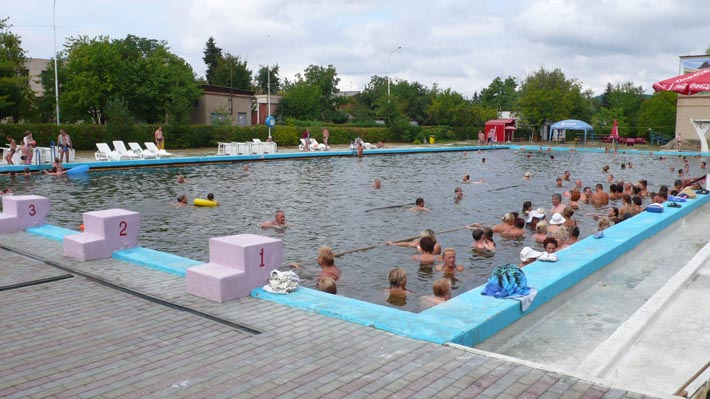 Термальный бассейн в Берегово