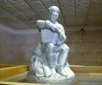 В музее фарфора в Барановке