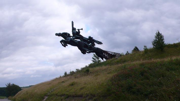 Памятник бойцам 1-й Конной армии