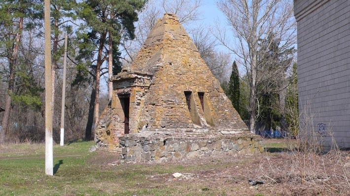 Часовня-пирамида в с. Берёзовая Рудка