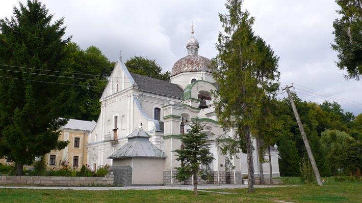 Монастырь отцов Василиан в Подгорцах