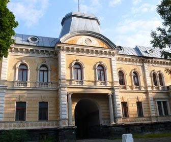 Дворец графа Кинского в Сколе