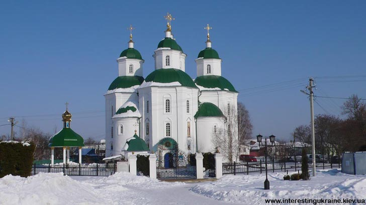 Спасо-Преображенский собор в Прилуках