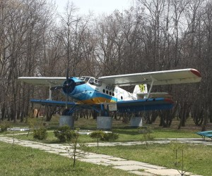 Самолет АН-2 - достопримечательность Березани