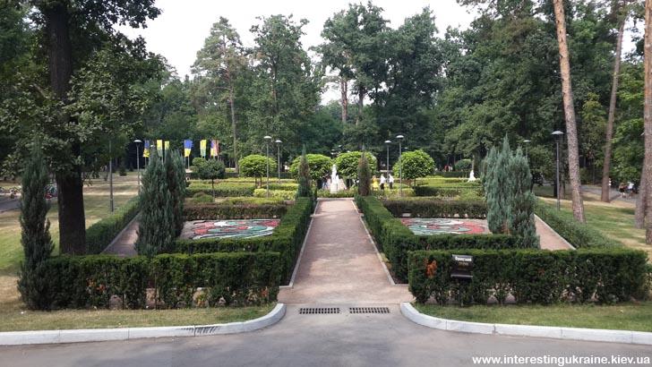 Парк в Буче