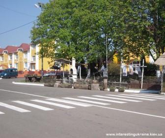 Центр села Ковалевка