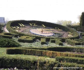 Цветочные часы в Ковалевке