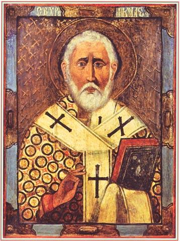 Чудотворный образ Святого Николая